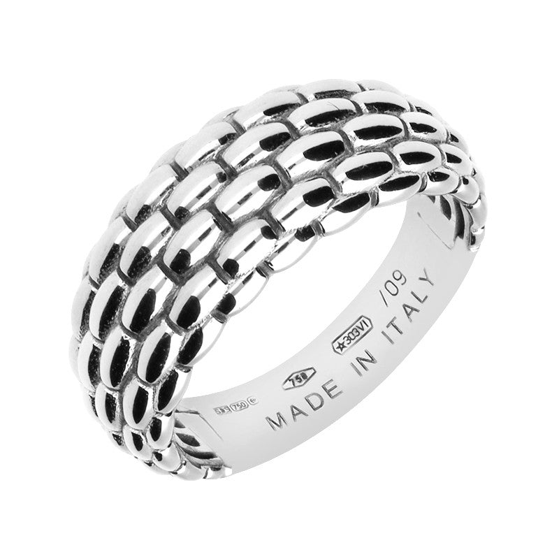 Copy of Fope Lux 18ct White Gold Signature Weave Ring