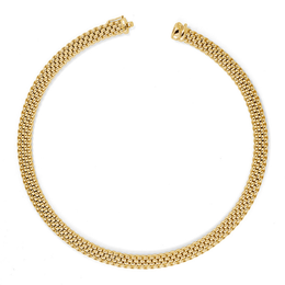 Fope Profili 18ct Yellow Gold  Necklace 590C