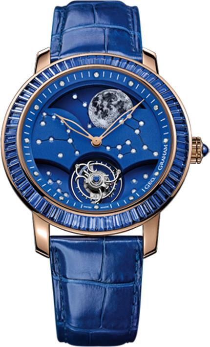 Graham Watch GeoGraham Watch The Moon Limited Edition 2GGMP.U02A.BL.AL