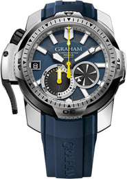 Graham Watch Chronofighter Prodive Blue 2CDAV.U01A.K87F