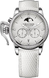 Graham Watch Chronofighter 1695 Lady Moon 2CXCS.S06A.L107S