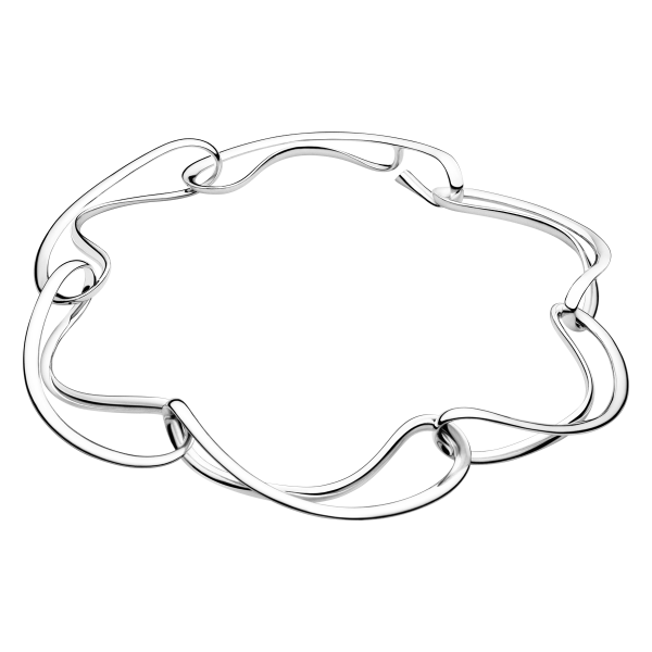 Georg Jensen Infinity Sterling Silver Necklace