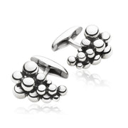 Georg Jensen Moonlight Grapes Sterling Silver Cufflinks 3533816