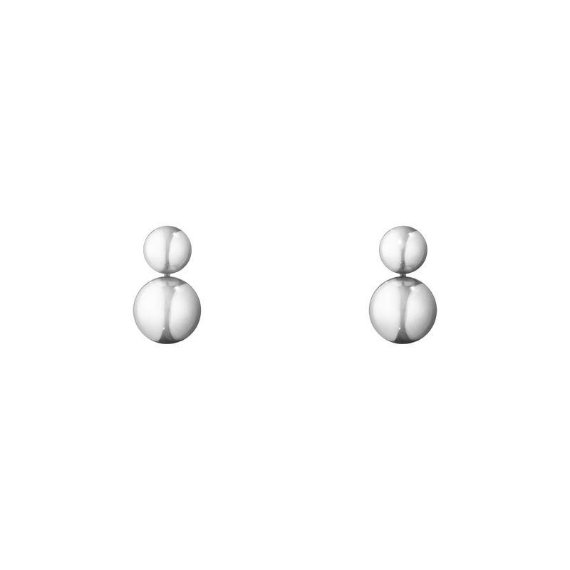 Georg Jensen Moonlight Grapes Sterling Silver Drop Earrings