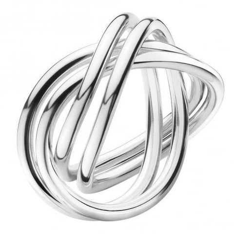 Georg Jensen Sterling Silver Ring D