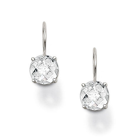 Thomas Sabo Earrings White Zirconia Round Drop