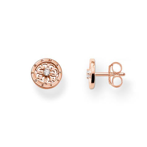 Thomas Sabo Earrings Special Addition 18k Rose Gold Plated Ear Studs