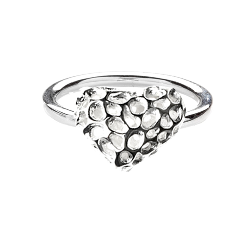 Rachel Galley Amore Sterling Silver Heart Ring