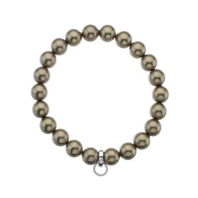 Hot Diamonds Carriers Bronze Diamond Life Charm Bracelet