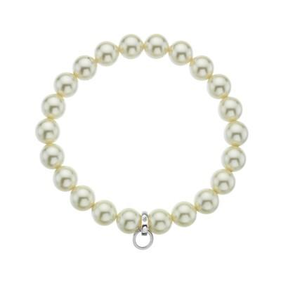 Hot Diamonds Carriers Cream Diamond Life Charm Bracelet