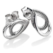 Hot Diamonds Chandelier Sterling Silver And Diamond Stud Earrings D DE498
