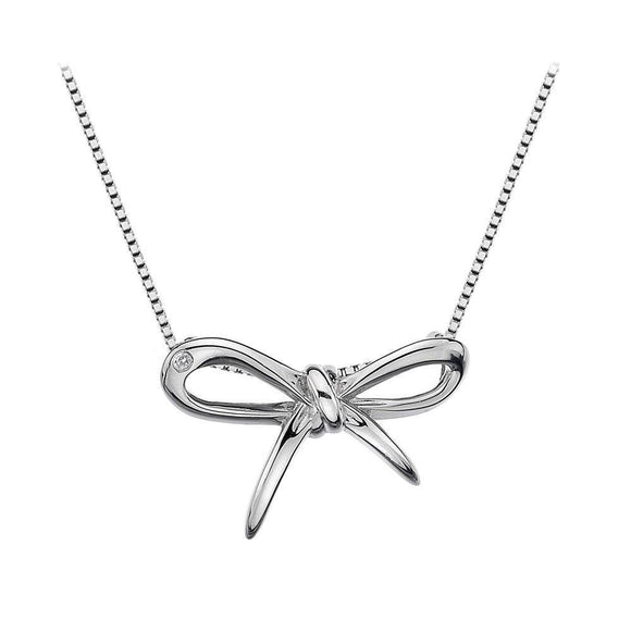 Hot Diamonds Flourish Sterling Silver Necklace DP471