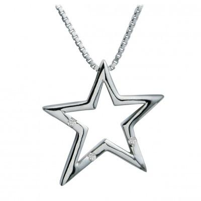 Hot Diamonds Just Add Love Distinctive Sterling Silver Necklace DP093