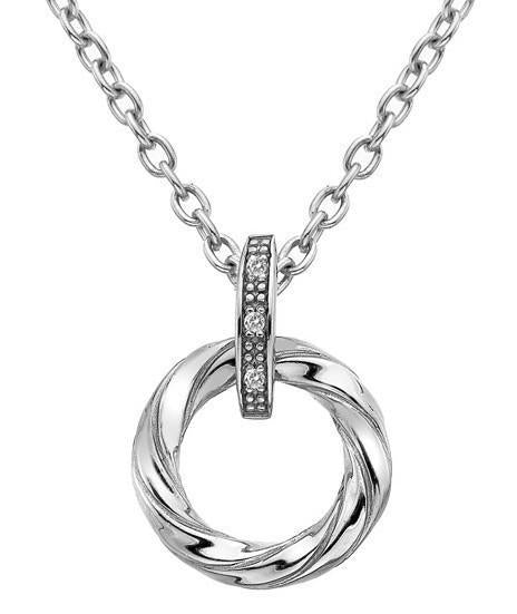 Hot Diamonds Luxury Sterling Silver Diamond Breeze Pendant DP628