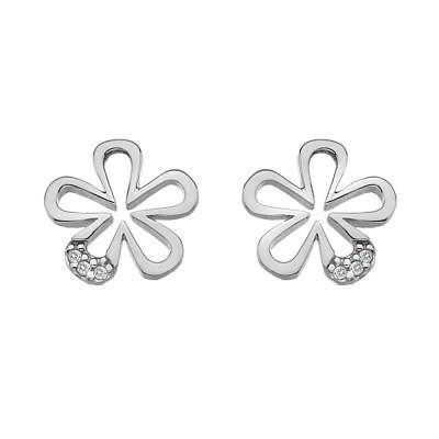 Hot Diamonds Micro Sterling Silver Petals Earrings D