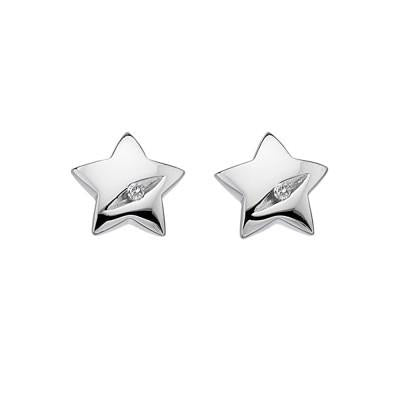 Hot Diamonds Shooting Stars Sterling Silver Earrings