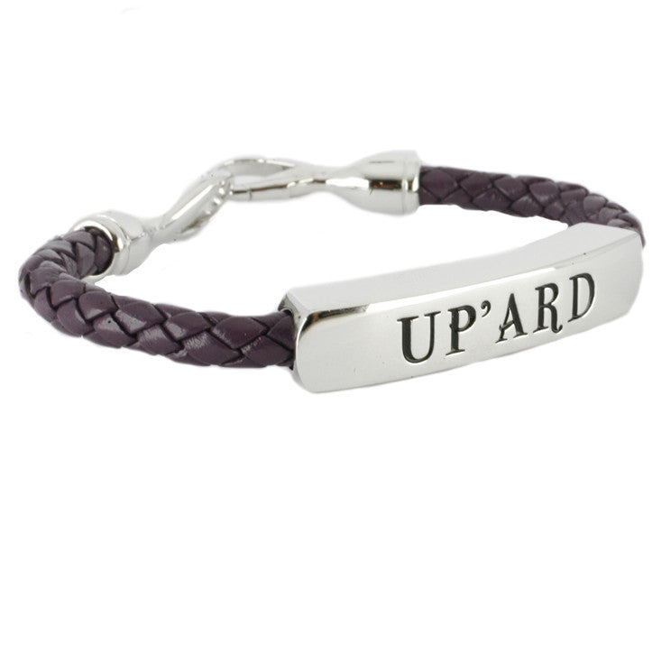 Shrovetide Ladies Purple Up'ard Bracelet