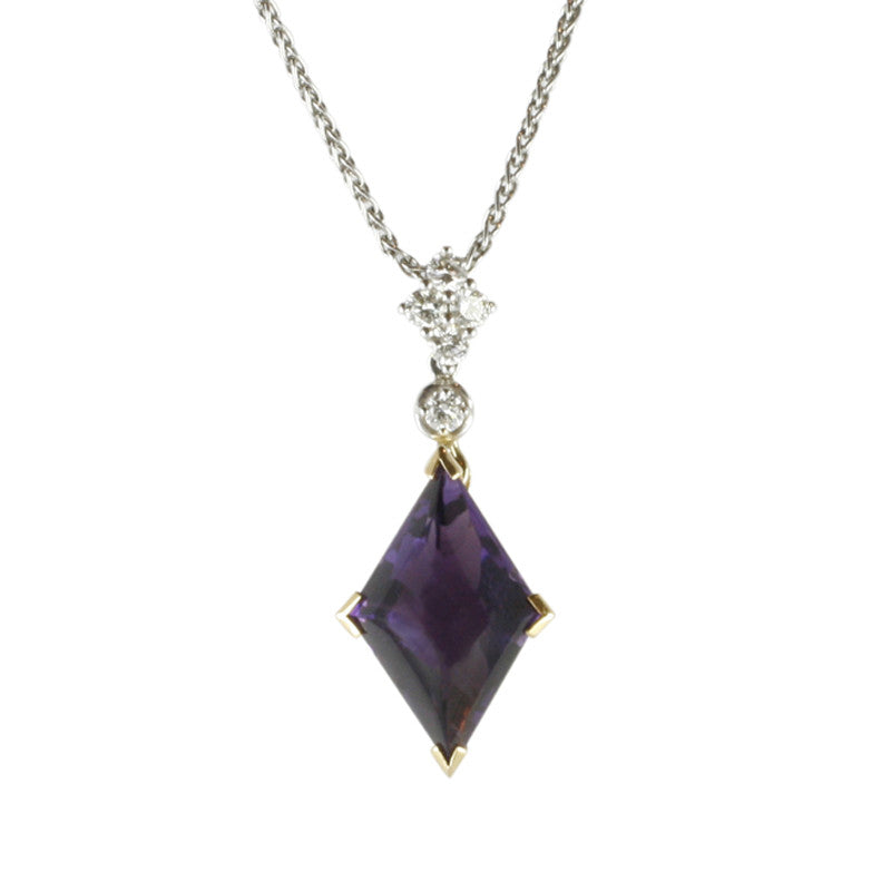 Picchiotti Necklace Diamond And Amethyst