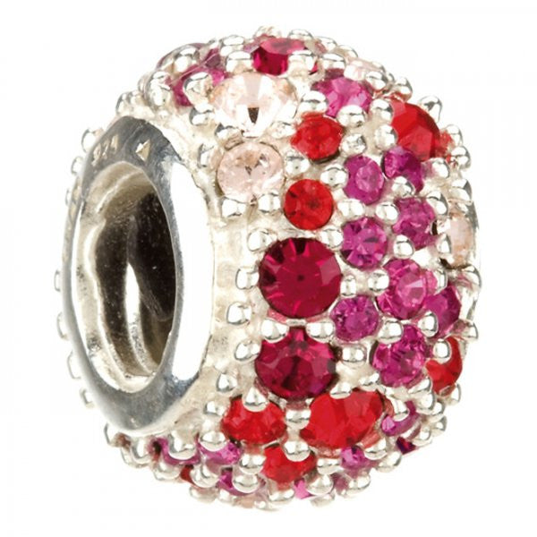Chamilia Charm Jewelled Kaleidoscope Red D