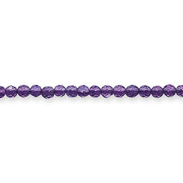 Thomas Sabo Necklace Silver & Amethyst Bead 53cm Chain D