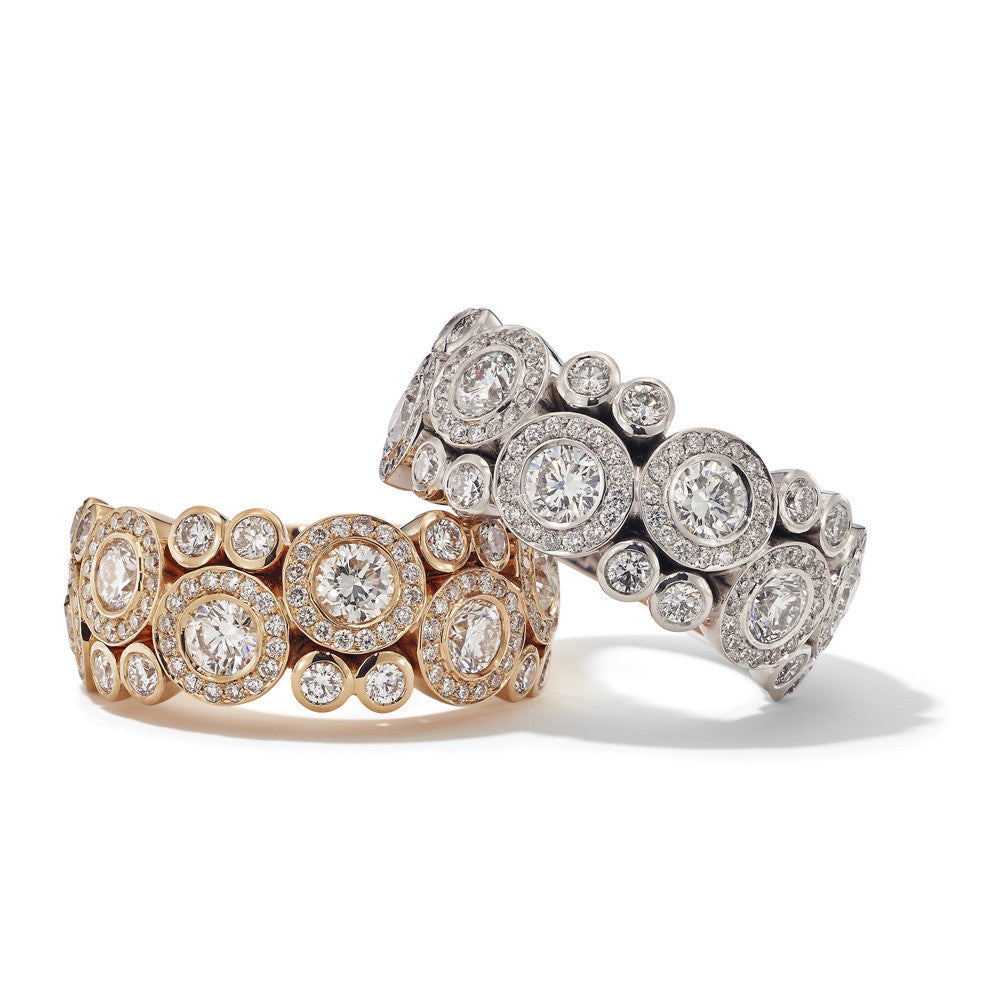 Hans D. Kreiger Ring Rose And White Gold