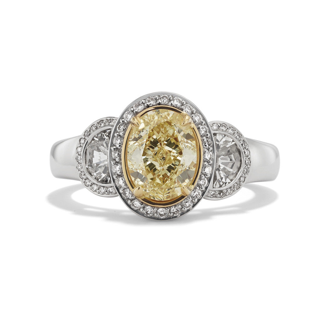 Hans D. Kreiger Ring Yellow Diamond