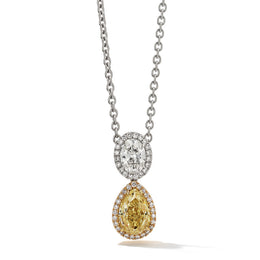 Hans D. Kreiger Yellow Diamond Pendant 1111010039