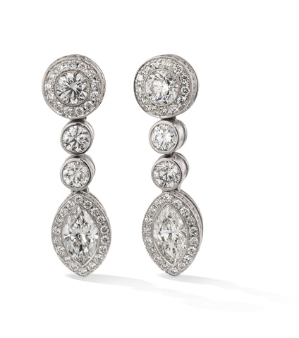 Hans D. Kreiger Earrings Diamond