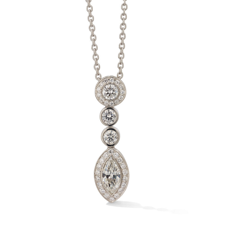 Hans D. Kreiger Necklace Diamond Necklace