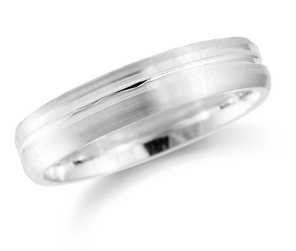 Brown & Newirth Wedding Ring Palladium Gents