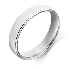 Palladium 5mm Wedding Ring