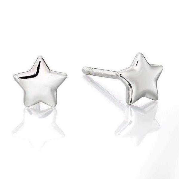 Little Star Ava Sterling Silver Star Earrings