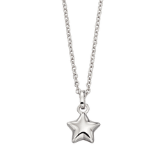 Little Star Eva Sterling Silver Star Necklace