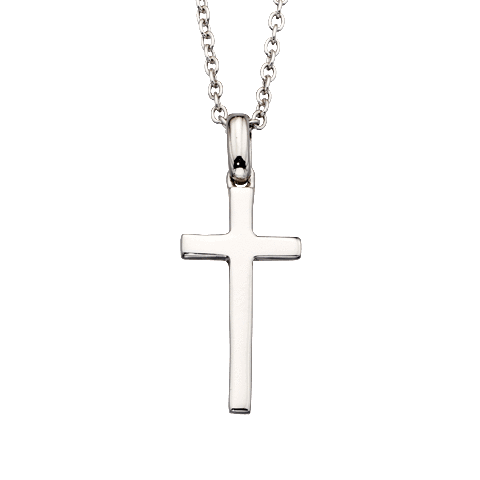 Little Star Sterling Silver Cross Misha Necklace