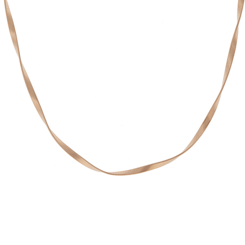 bce6f622d1c7f1 Marco Bicego Marrakech Supreme 18ct Rose Gold Necklace CG750 R | C W ...