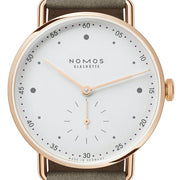 Nomos Glashutte Watch Metro Rose Gold 33 1170