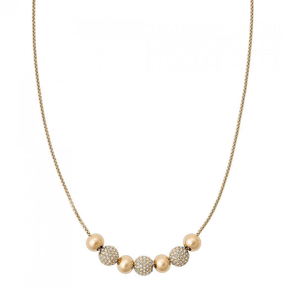 Michael Kors Yellow Gold Brilliance Necklace D MKJ5522710