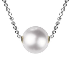 Mikimoto 18ct White Gold White Grade A Akoya Pearl Necklace