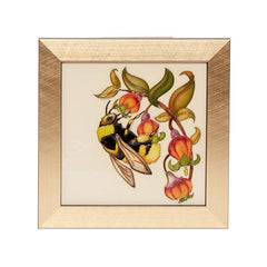 Moorcroft Limited Edition Bilberry Bee Plaque