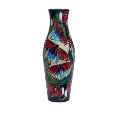 Moorcroft Limited Edition California Butterfly Vase