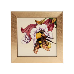 Moorcroft Limited Edition Large Garden Bee Plaque