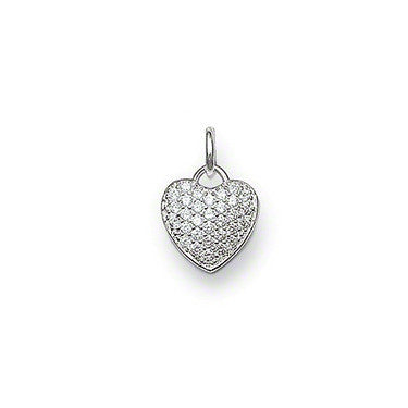 Thomas Sabo Pendant Sterling Silver Special Addition Zirconia Pave Pendant