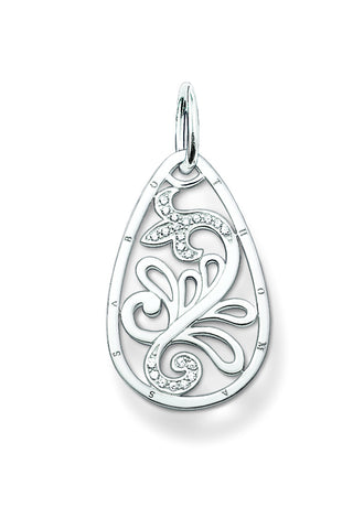 Thomas Sabo Pendant Sterling Silver Special Addition Letter L 18k Rose Gold Plated D