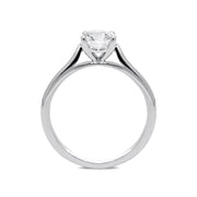 Platinum 1.02ct Diamond Brilliant Cut Solitaire Ring FEU-2082