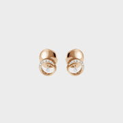 Ponte Vecchio 18ct Rose Gold 0.23ct Diamond Stud Earrings PTV-025