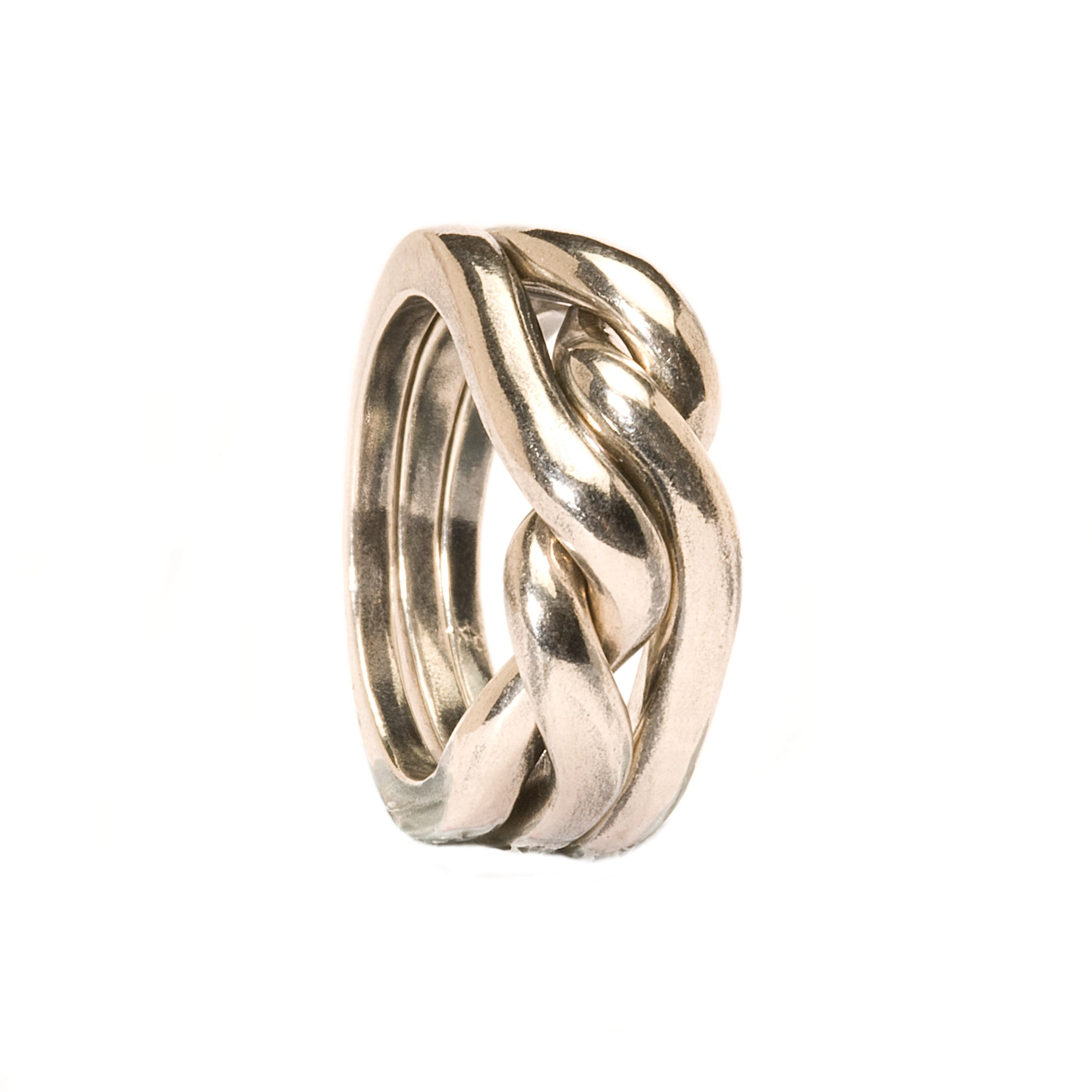 Trollbeads Ring Strength Courage and Wisdom