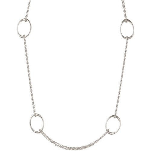 Chamilia Necklace Oval Link RN-3