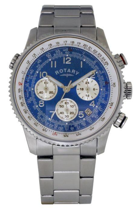 Rotary Watch Gents Steel Bracelet D INDE5