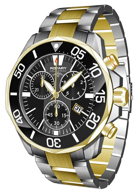 Rotary Watch Aquaspeed Gents Steel Bracelet AGB00067/C/04