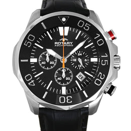 Rotary Watch Aquaspeed Gents Steel Strap AGS00066/C/04